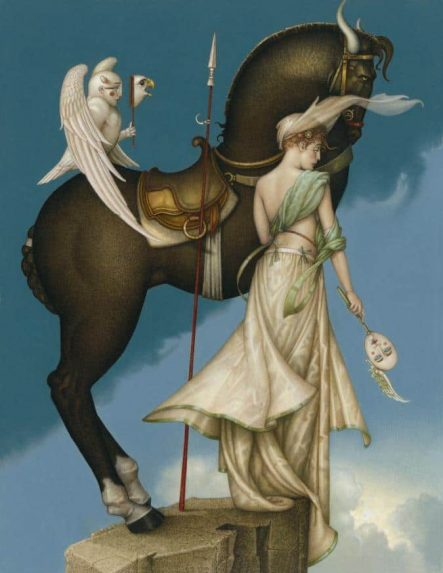 The Summit michael parkes litho